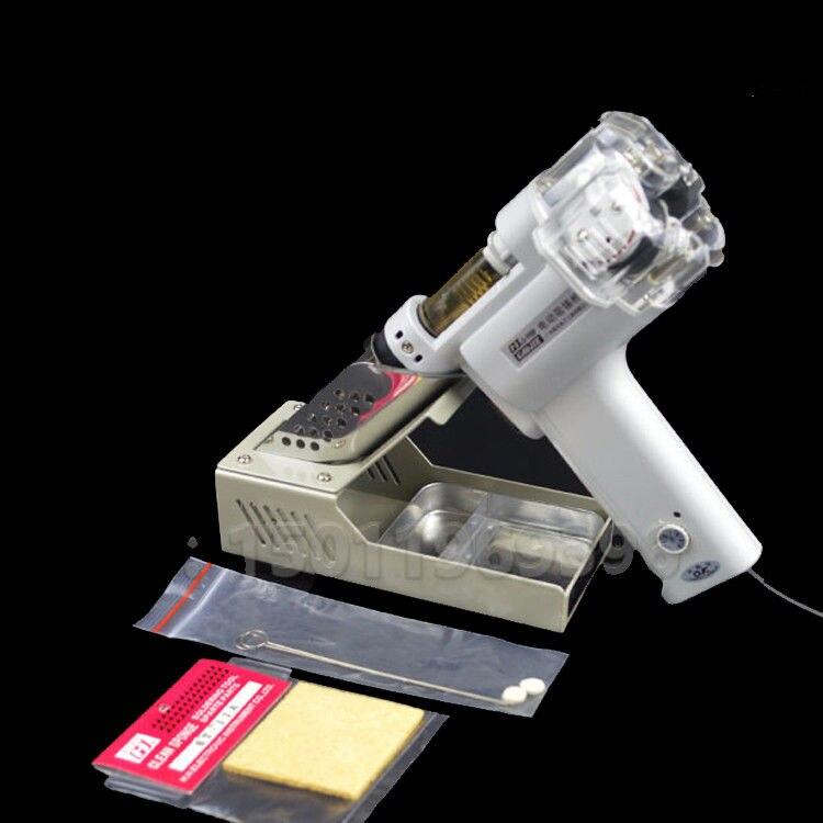 220 V S-998P pompe à dessouder sous vide électrique double pompe d'aspiration étain soudure pistolet à ventouse pistolet électrique