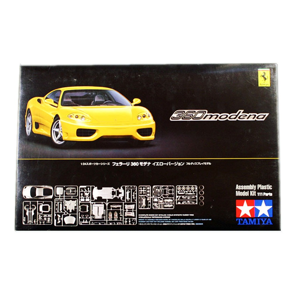 OHS Tamiya 24299 1/24 360 Modena Scale Assembly Car Model Building Kits oh