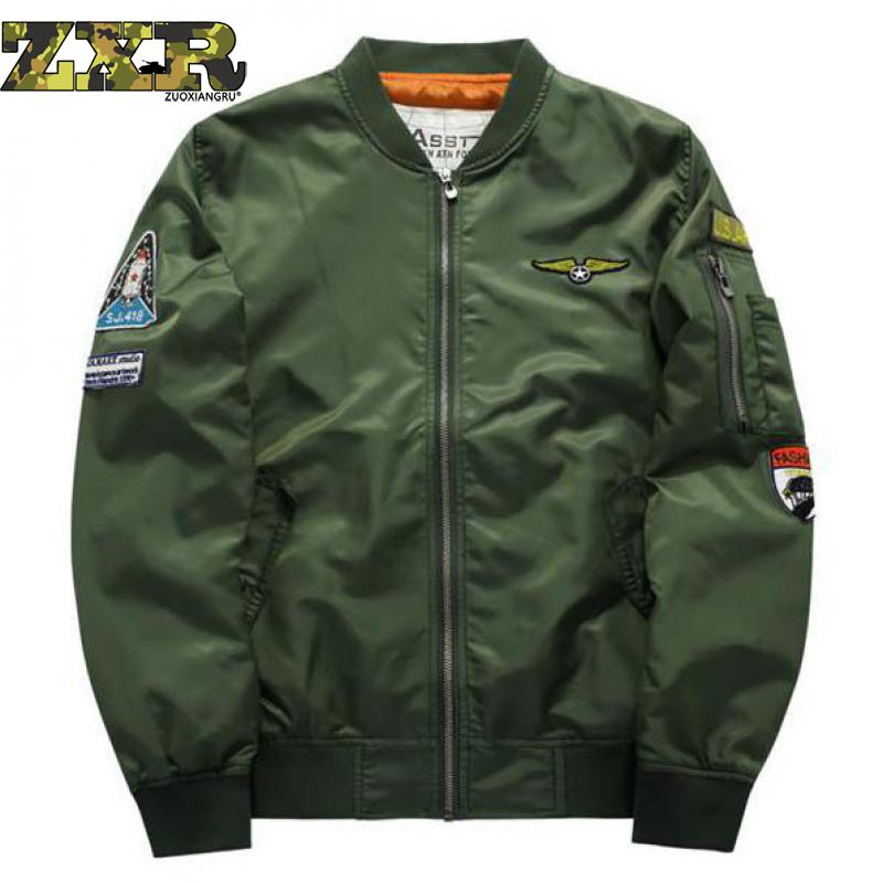 ad8b2ed0b US $16.98 50% OFF|Asstseries Bomber Jacket Men Army Military Jacket Men  Mens Air Force Jackets And Coats Oversize 6XL Tactical Jacket For Men-in ...