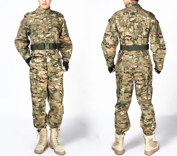 Camouflage Military Tactical Uniform Airsoft Paintball War Game Clothes Combat Uniform Jacket & Pants Multicam Suits usmc digital urban camo v3 bdu uniform set war game tactical combat shirt pants ghillie suits