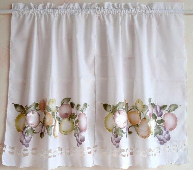 estilo europeo ventana cortinas nivel establecido estreo fruta cortinas decorativas para puerta de la cocina dormitorio