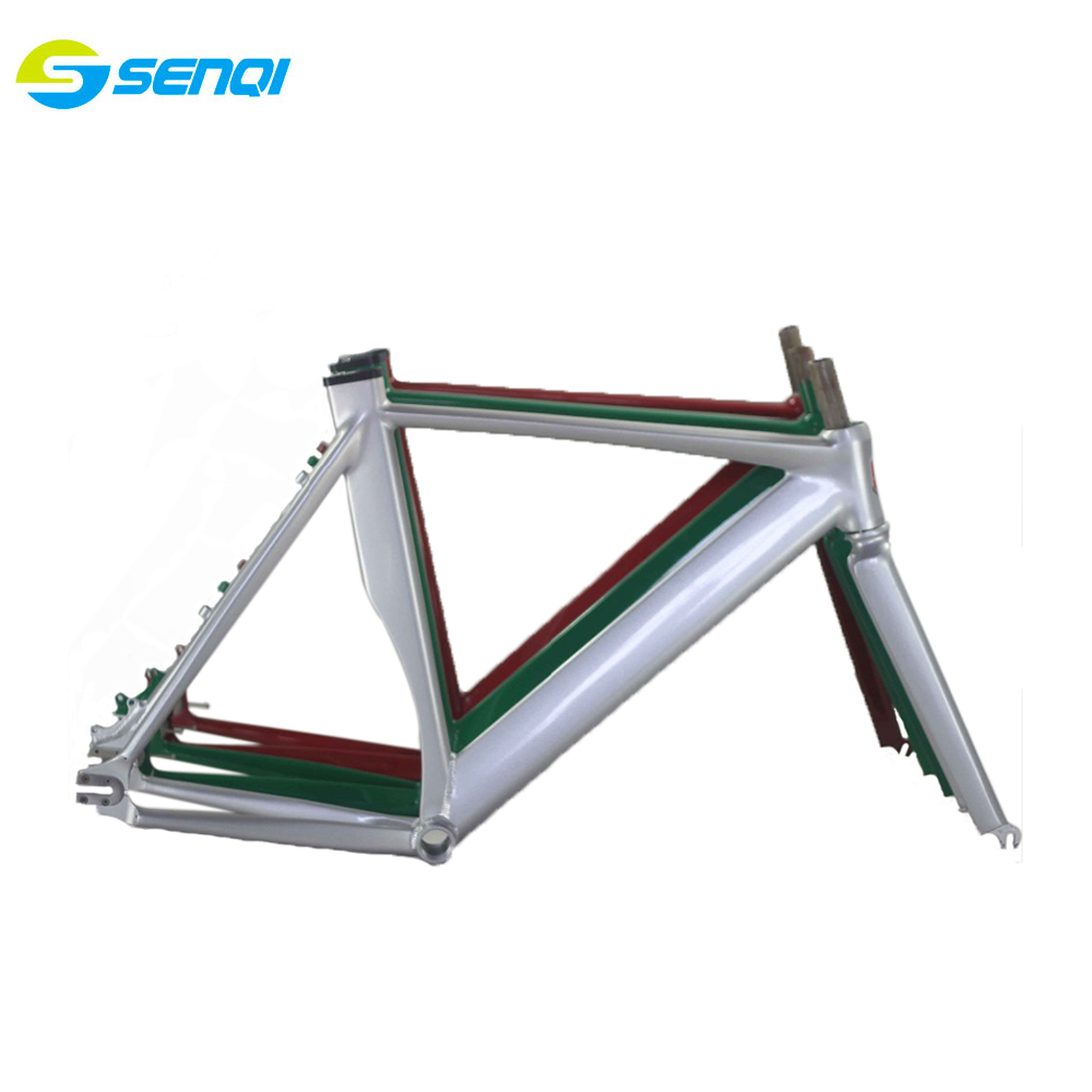 700C*54CM Smooth Welding Track Bike Fixed Gear Disc-Brake Bicycle Frame With the label paper free shipping цена