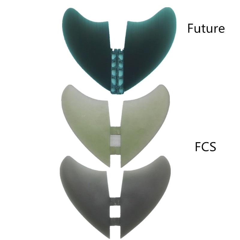 Prix pour NOUVEAU Design hotsales homb fiber de verre ailettes 2 pcs/ensemble XXXL taille pour les ailerons de surf XXXL FCS Avenir