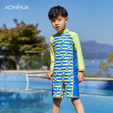 AONIHUA Childrens Swimwear Baby Boy Swimsuit For Clothing Rash Guard Kids Guards Toddler Beachwear Swimming 1039