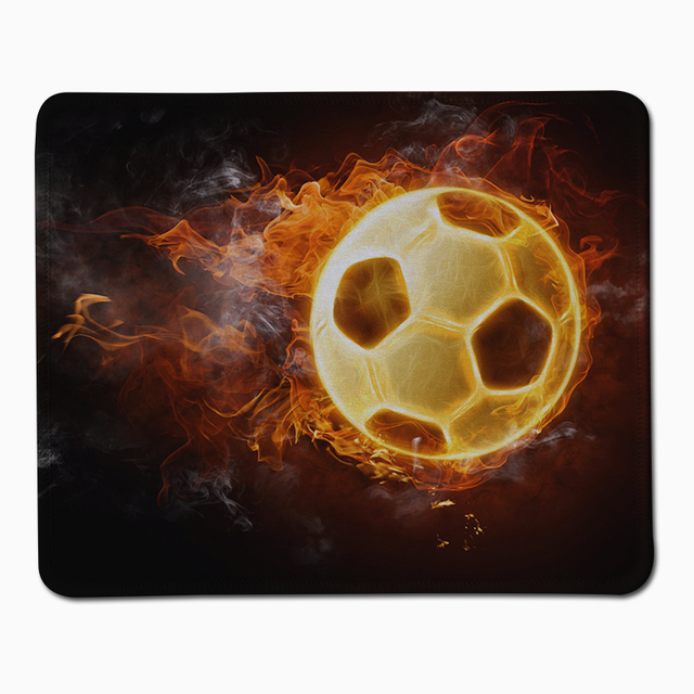 Free shipping soccer wallpaper high quality gaming mouse pad notebook mouse pad 220*180*2(MM)