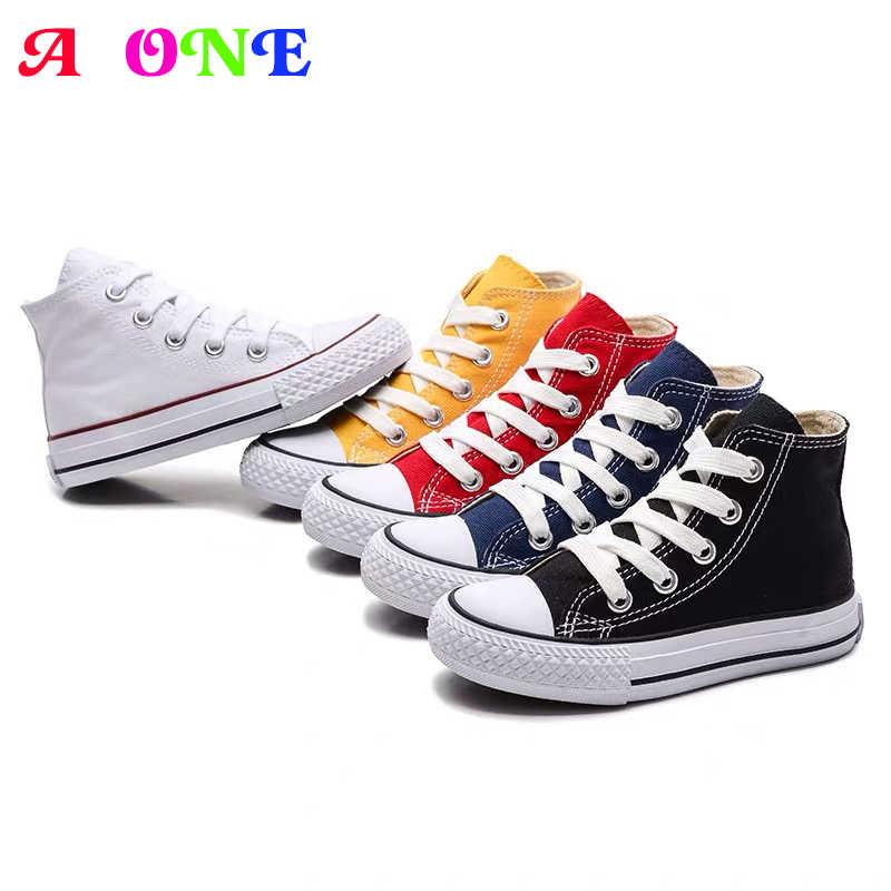 boys girls denim shoes kids