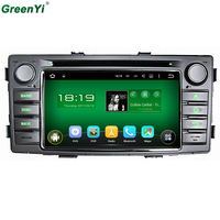 Car DVD Player Quad Core Android 5 1 For Toyota Hilux 2012 2014 GPS Navigation Radio