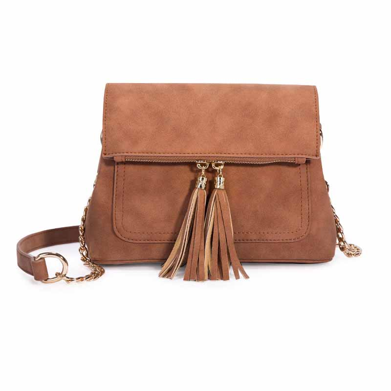 Woman Handbag Suede Leather High Quality Retro Style Women Shoulder Bags Tassel Cover Ladies Messenger Bag Casual DesignWoman Handbag Suede Leather High Quality Retro Style Women Shoulder Bags Tassel Cover Ladies Messenger Bag Casual Design