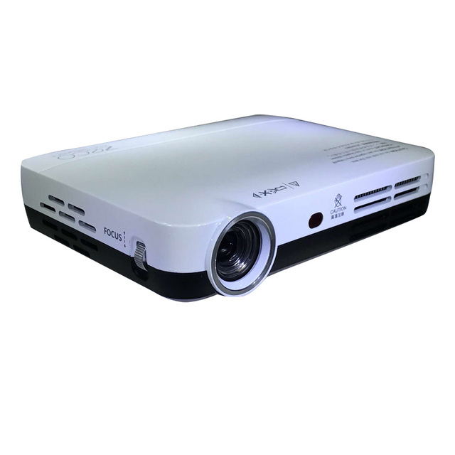 5800 Lumens Dlp Projector 1280 800 Native Resolution Real Include 2d Convert