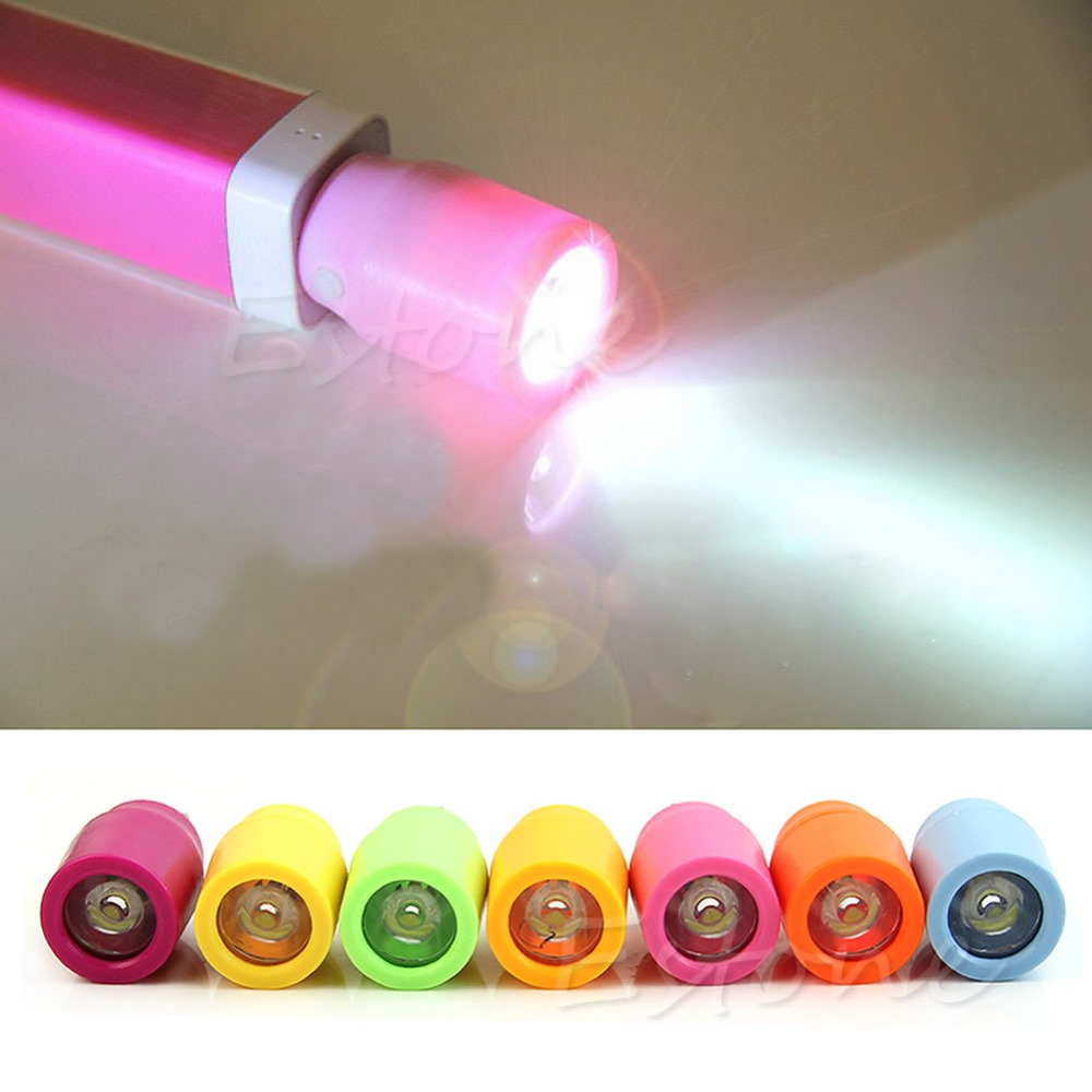 YAM External Supply Power Mini USB LED Torch Flashlight Emergency Power Light Lamp