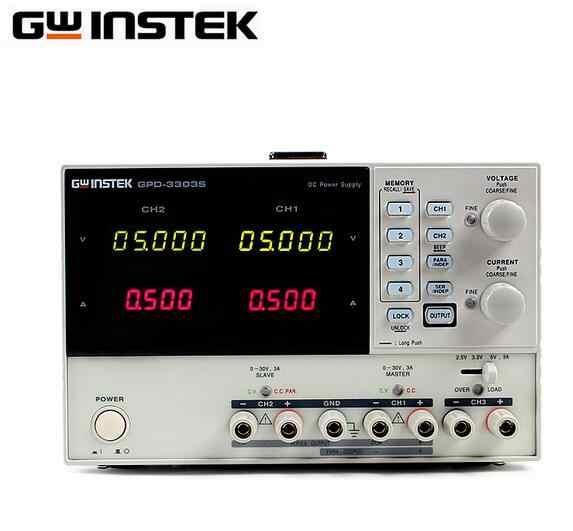 Gwinstek Питание GPD 4303S мультиплекс программируемый Линейный DC четыре канала 30V 3A