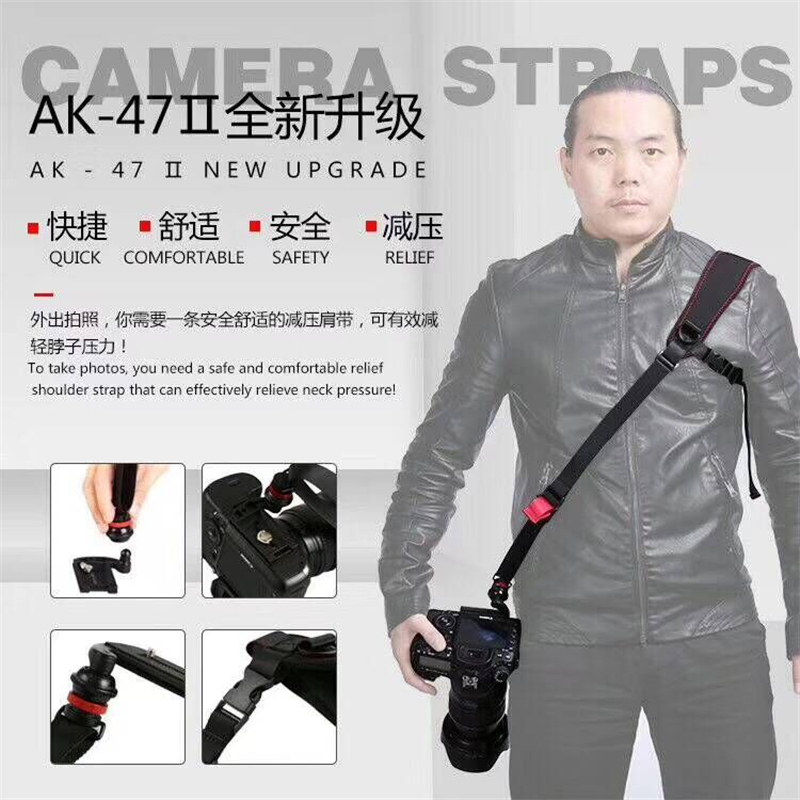 1set SLR camera strap fast gun series Fast shoulder strap for canon nikon 5D3 D800 5D4 70D D610 700D 600D D7000 D7200 DLSR