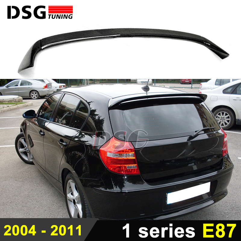 1 series e87 rear spoiler ac style carbon fiber spoiler. Black Bedroom Furniture Sets. Home Design Ideas