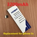 HSABAT 3200mAh Battery For Apple Iphone 5S iphone5s iphone 5gs iphone5gs free shipping within tracking number