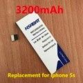 Hsabat 3200 mah batería para apple iphone 5s iphone5s iphone 5gs iphone5gs envío gratis dentro de número de seguimiento