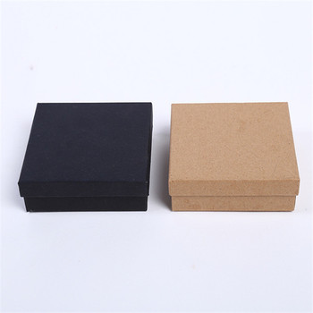 цена на DoreenBeads Jewelry Boxes Paper Gift Box Vintage Brown Black Ring Box Necklace Box 9*9*3cm Multicolor Simple Style 1 Piece