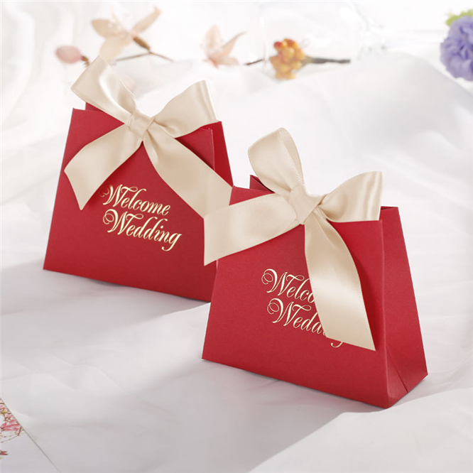 30pcs Noble Wedding Favors Gifts Box Paper Candy Box Chocolate Packaging Box Party Supplies Decorations Giveaways Boxes