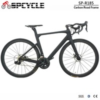 Spcycle Disc Brake Complete Full Carbon Road Bicycle 22 Speed Complete Carbon Road Bike R7020 And R8020 Groupset Available