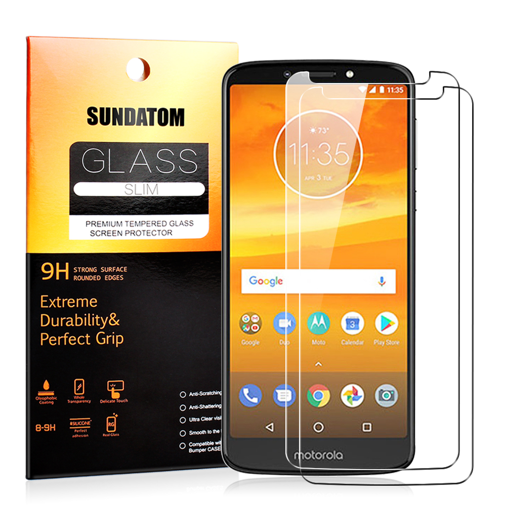 For Moto E5 Plus Play Tempered Glass Screen Protector Protective Film Guard for Motorola E5 Play Anti Explosion Anti-shatter