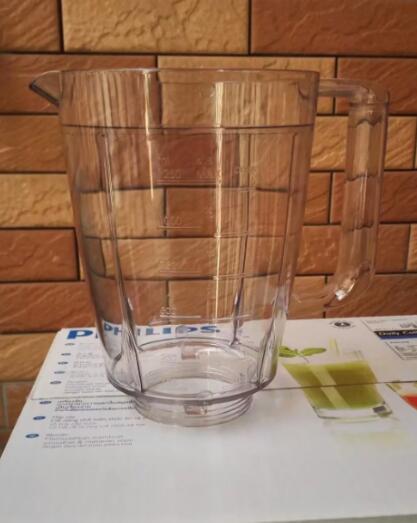 Original Product blender jar Juice glass cups Suitable for philips blender parts HR2105 HR2106Original Product blender jar Juice glass cups Suitable for philips blender parts HR2105 HR2106