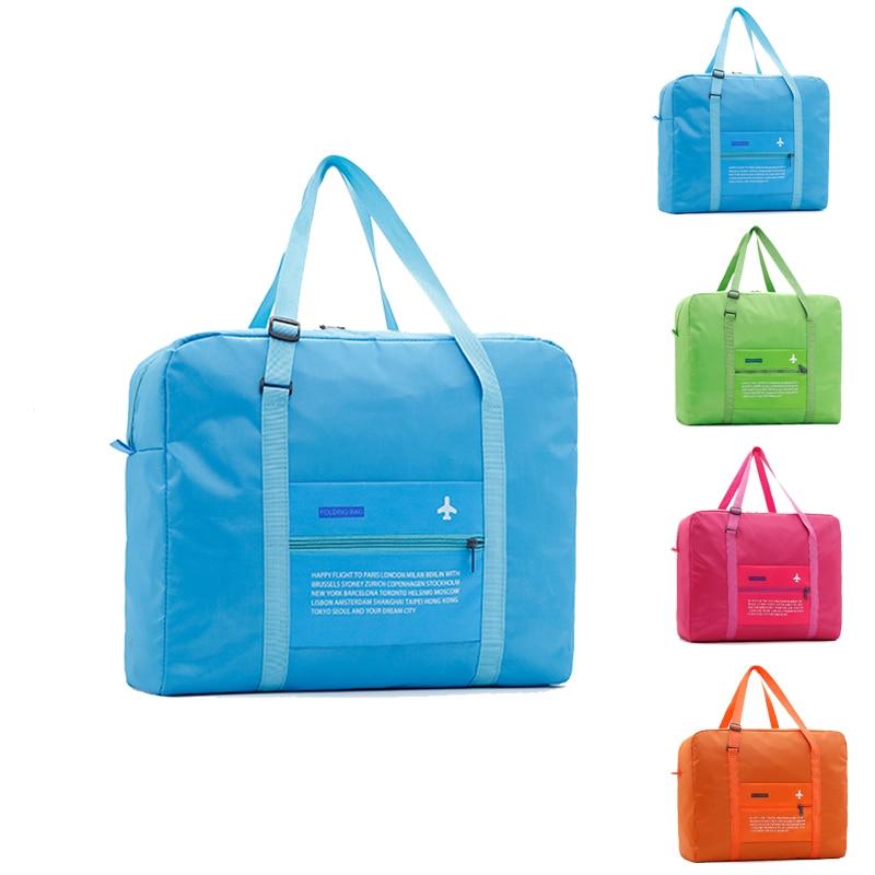 Fashion WaterProof Travel Bag Large Capacity Bag Women Popular Nylon Folding Bag Unisex Men Luggage Travel Handbags wholesale цена 2017
