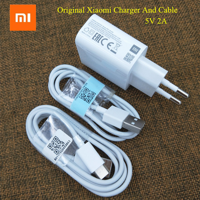 Xiaomi USB Charger 5V 2A Wall adapter For Redmi note 7 pro K20 5 6 7A 6A 5A 4A 6x 5x 4x Mi 5 6 A2 Micro usb Cable/Type-C Cable