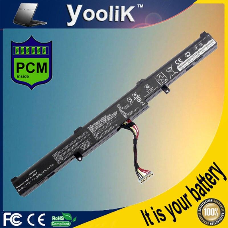 15V 2950mAh batterie d'ordinateur portable A41 X550E F450E R752MA K550E X751MA X751MD X751MJ POUR ASUS|x550e battery|battery for asus|battery a41-x550 -