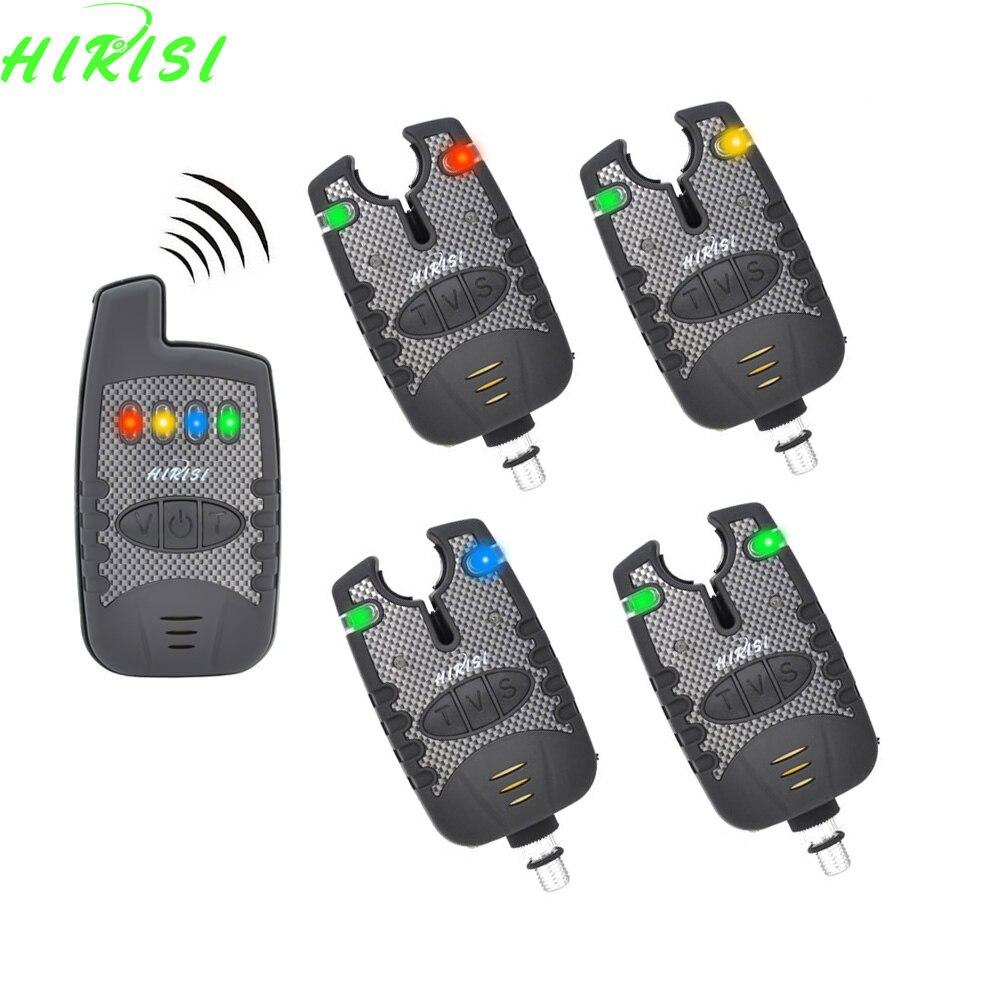 Wireless fishing bite alarm set carp fishing alarms with for Fishing bite alarms