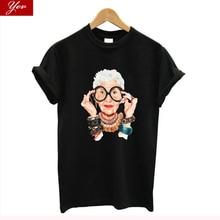Summer Women Casual Loose T-shirt O-Neck Short-sleeved Printed Elegant