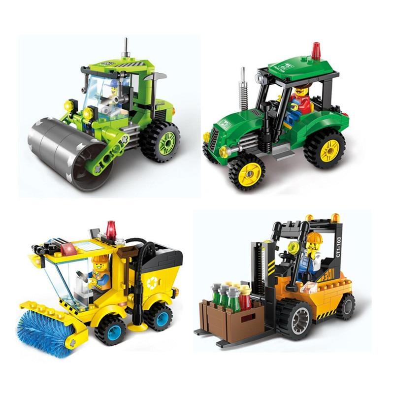 Christmas Gift Kids Educational Puzzle DIY Building font b Blocks b font Kit font b Toys