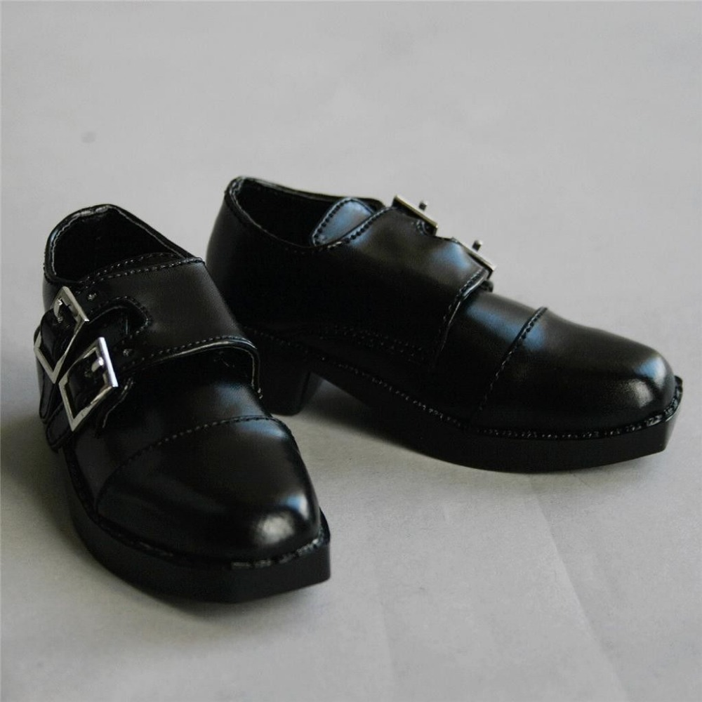 [wamami] 13# Black Hasp 1/3 SD AOD LUTS BJD Dollfie Synthetic Leather Shoes