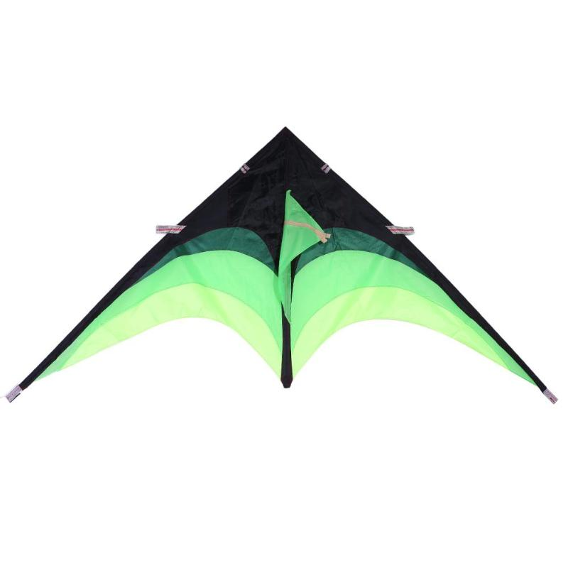 Easy Take off Huge Triangle Grass Flying Kite with String Handle Flying Toys Fun Outdoor Sports Gift