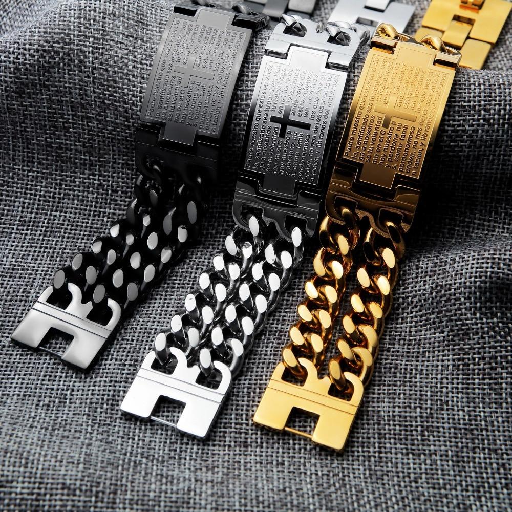 Bracelets For Women Men Classic Titanium steel bracelet Friendship Bracelet Jewelry