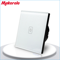 Remote Dimmer Switch EU Standard Controller Wall Light Touch Switch