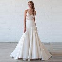 54f08bdbece111 Formal Style Mermaid Wedding Skirt Custom Made Zipper Waistline Floor Length  Long Skirt White Maxi Skirts