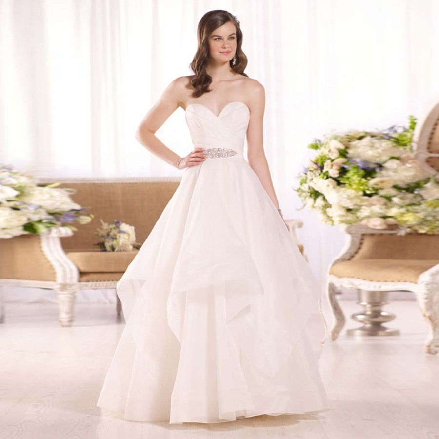 simple wedding dress styles plain wedding dresses New Bridal Collection Fashion Fuz