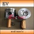 Комплект для ремонта двигателя V3300 V3300T V3300-DI комплект поршневых колец гильза цилиндра полная прокладка головки цилиндра главный подшипник с...