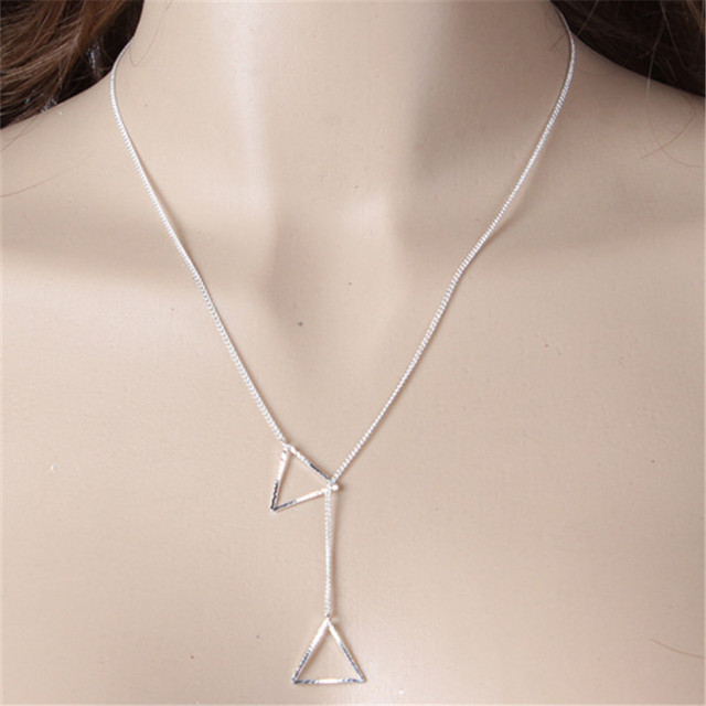 silver annika everyday necklace sterling simple bead layering dainty p minimal from bella