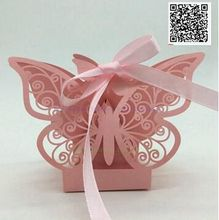 100pcs 2017 butterfly hollow peacock Wedding Candy Box Gift Paper Boxes Chocolate Carton Wedding Supplies 100pcs 2017 five star european style hollow wedding candy box gift paper boxes chocolate carton wedding supplies