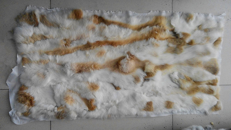 Natural Genuine Color Rabbit Fur Skin Pelt Rug Blanket For Home Textile Like Chairs Soft And Light Music Memorabilia