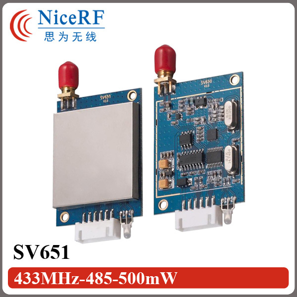 Image 3 - 2SETS SV651 500mW 27dBm TTL/RS232/RS485 Interface 3KM Radio Modem 433MHz 27dBm RF Transceiver Module-in Communications Parts from Cellphones & Telecommunications