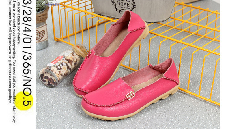 AH912 (4) women's loafers shoe
