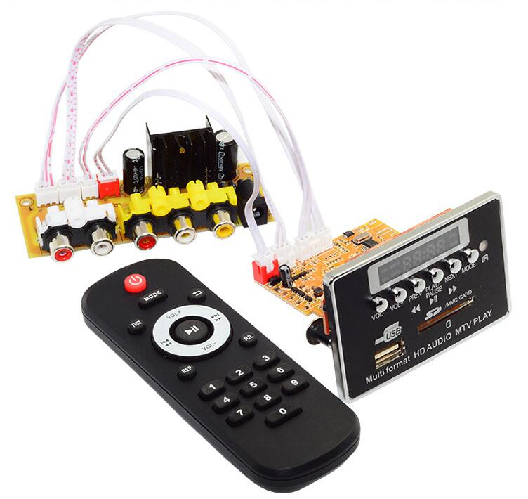 Decoding-Board Sd-Memory-Card-Player Bluetooth-Receiver Video-Decoder MP3 Audio Ape Flac