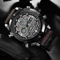 Hombres Reloj Casual 2019 movimiento de cuarzo de alta calidad relojes Reloj Hombre Deportivo Hombre Reloj electrónico, relojes digitales