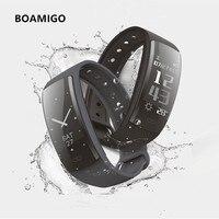 חכם שעונים Bluetooth חכם שעון צמיד צמיד מד צעדים קלוריות קצב לב תזכורת הודעה עבור IOS אנדרואיד טלפון