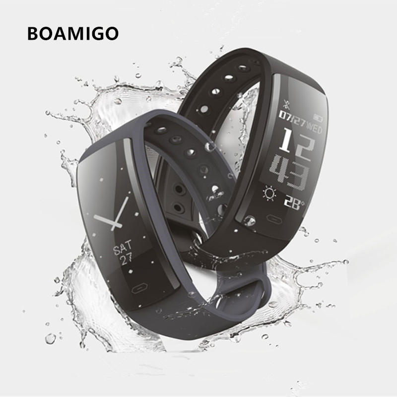 Smart Watches Bluetooth Smart Bracelet Wristband Pedometer Calories Heart Rate Message Reminder Watch For IOS Android Phone стоимость