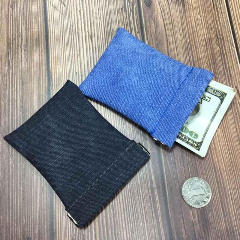 Mulheres Homens de Couro Fosco Mini Coin Purse Alterar Carteira de Fechamento Forte Mola De Metal Pequeno Saco Macio