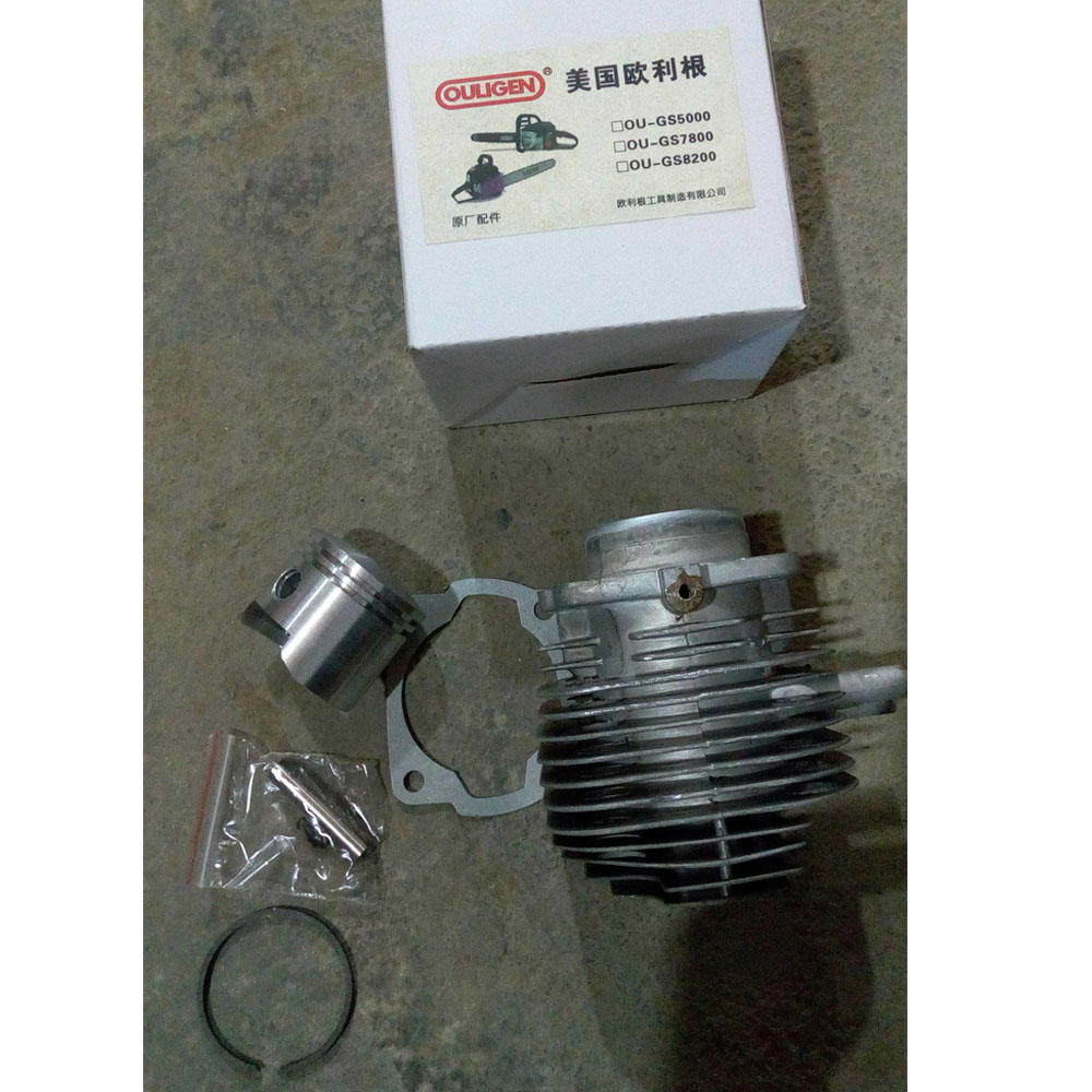 51 mm Cylinder Piston Ring Kit Fits For Oregon 78 82 OU GS5000/7800/8200 Chainsaw Spare Parts