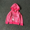 Free Shipping 8 Pieces/lot NEW 4-12T Brand Quality HARD ROCK Girl Cotton Hood Girl Autumn Sweatshirt