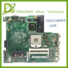 цена на For Lenovo Z480 DALAZ2AMB8F0 REV:F laptop motherboard Z480 for lenovo new original motherboard 100% tested